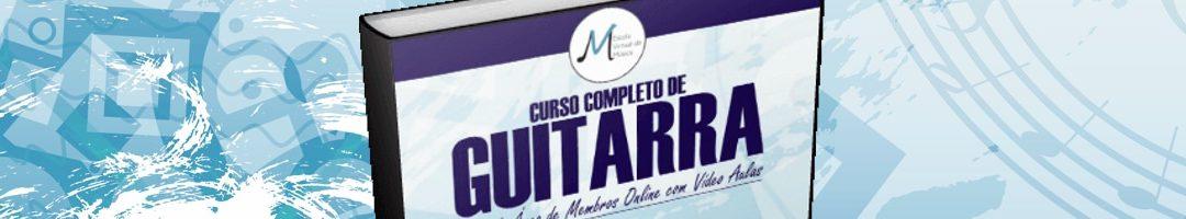 Novo método de Guitarra EVM (Livro + Área de Membros)